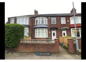 Thumbnail 3 bed terraced house to rent in Cambridge Road, Stockton-On-Tees