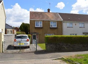 Thumbnail 2 bed end terrace house for sale in Cadle Crescent, Swansea