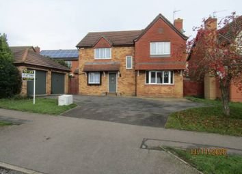 Thumbnail 4 bed detached house to rent in Constable Drive, Wellingborough