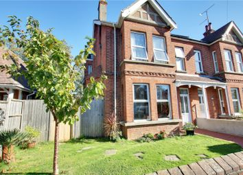 Thumbnail 4 bed semi-detached house for sale in Woodlea Road, Tarring, Worthing, West Sussex