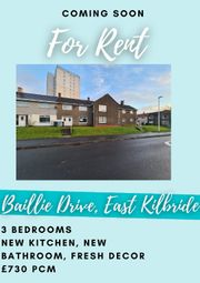 Thumbnail 3 bed terraced house to rent in Baillie Drive, East Kilbride, South Lanarkshire