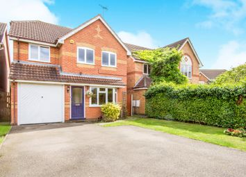 Thumbnail 4 bedroom detached house for sale in Raine Way, Oadby, Leicester