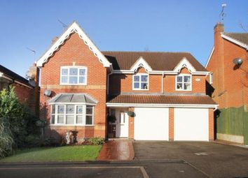 Thumbnail 5 bedroom detached house for sale in Fairburn Croft Crescent, Barlborough, Chesterfield, Derbyshire