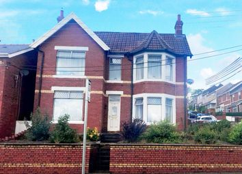 Thumbnail 4 bedroom detached house for sale in Pengam Road, Ystrad Mynach, Hengoed