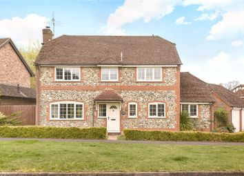 Thumbnail 4 bed detached house for sale in Albert Road, Bagshot, Surrey