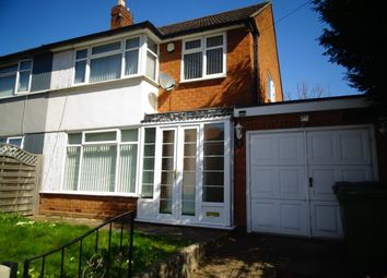 Thumbnail 3 bed semi-detached house to rent in Newbridge Street, Wolverhampton