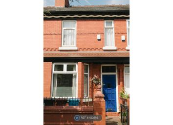Thumbnail 3 bed terraced house to rent in Manchester, Manchester