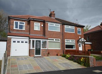 Thumbnail 4 bed semi-detached house for sale in Briarfield Road, Heaton Chapel, Stockport, Greater Manchester