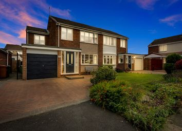Thumbnail 4 bed semi-detached house for sale in Jesmond Court, Newton Aycliffe