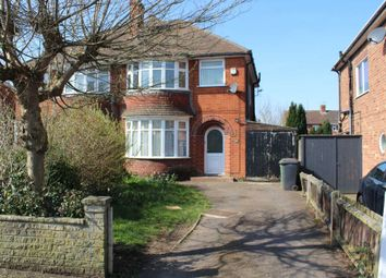 Thumbnail 3 bed semi-detached house to rent in Sycamore Road, Birstall, Leicester