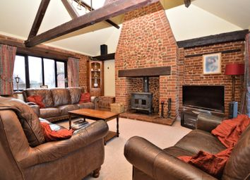 Thumbnail 4 bedroom barn conversion for sale in Church Farm Barns, Well Lane, Sparham, Norwich