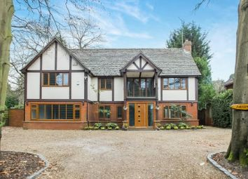 Thumbnail 6 bed detached house for sale in Forest Road, Pyrford, Woking
