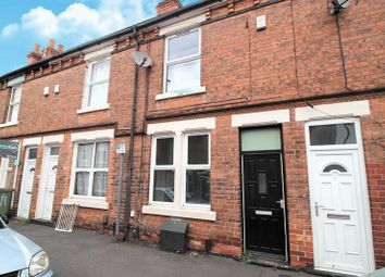 Thumbnail 2 bed terraced house to rent in Warwick Street, Nottingham