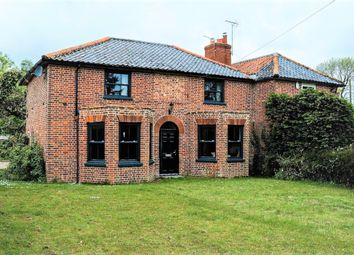Thumbnail 3 bed semi-detached house for sale in Rush Green, Barnham Broom, Norwich