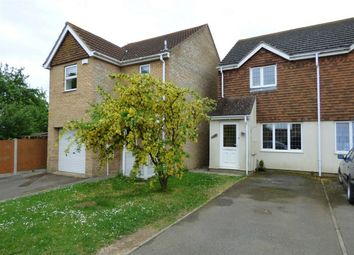 Thumbnail 2 bedroom semi-detached house for sale in Orchard Close, Warboys, Huntingdon