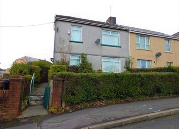 Thumbnail 3 bed semi-detached house for sale in Park Crescent, Brynmawr, Ebbw Vale