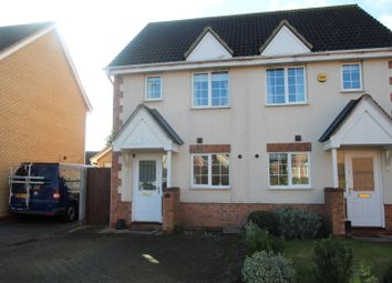 Thumbnail 2 bedroom semi-detached house to rent in Chantry Close, Swavesey, Cambridge
