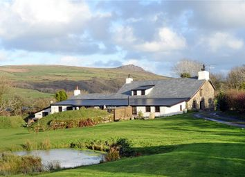 Thumbnail 8 bed detached house for sale in Tregynon, Gwaun Valley, Nr Fishguard, Pembrokeshire