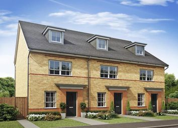 "Thumbnail 4 bedroom end terrace house for sale in ""Queensville"" at The Ridge, London Road, Hampton Vale, Peterborough"