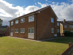 Thumbnail 1 bed flat to rent in Burwell Road, Middlesbrough