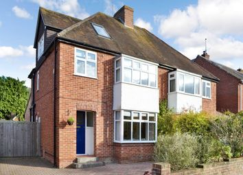 Thumbnail 4 bed semi-detached house to rent in Paddock Road, Newbury