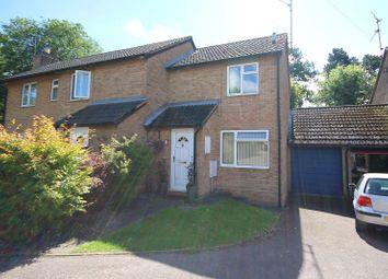 Thumbnail 2 bed semi-detached house for sale in Alington Close, Finedon, Wellingborough, Northamptonshire.