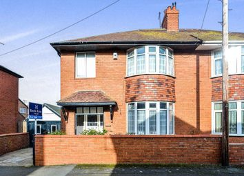Thumbnail 3 bed semi-detached house for sale in Russell Gardens, Rhyl
