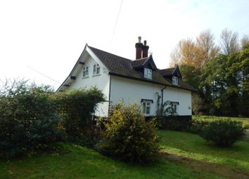 Thumbnail 1 bed semi-detached house for sale in 1 Mere Cottage, Norwich Road, Scoulton, Norwich, Norfolk
