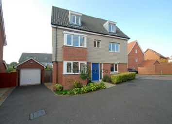 Thumbnail 5 bed detached house to rent in Fern Drive, Cringleford, Norwich