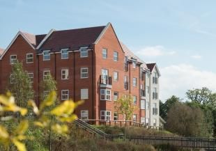 Thumbnail 2 bed flat to rent in Glassford House, Ashville Way, Wokingham