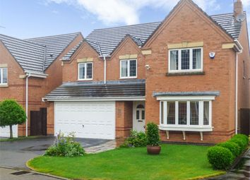 Thumbnail 5 bedroom detached house for sale in Oak Drive, Scholar Green, Stoke-On-Trent, Cheshire
