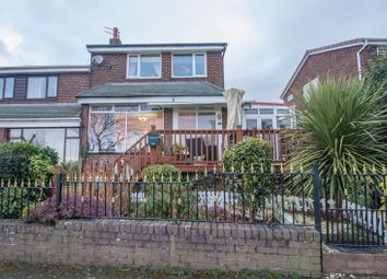 Thumbnail 3 bed semi-detached house for sale in Redesdale Avenue, Blaydon-On-Tyne