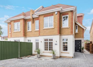 Thumbnail 4 bed semi-detached house for sale in Queens Road, Hersham, Walton-On-Thames