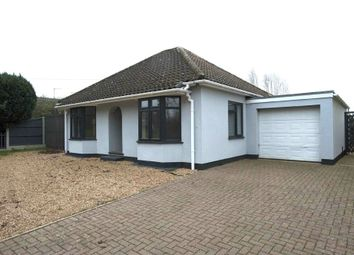 Thumbnail 3 bed detached bungalow for sale in Howdale Road, Downham Market, Norfolk