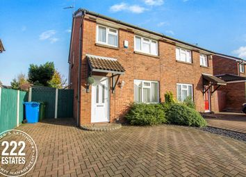 Thumbnail 3 bed semi-detached house to rent in St Bridgets Close, Fearnhead, Warrington