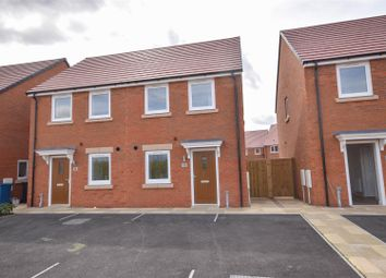 Thumbnail 2 bedroom semi-detached house for sale in Woodpecker Close, West Bridgford, Nottingham