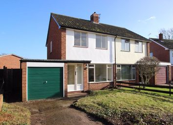 Thumbnail 2 bed semi-detached house to rent in Poole Close, Off Belmont Road, Hereford