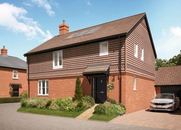 "Thumbnail 4 bed detached house for sale in ""The Swanford"" at Hole Lane, Bentley, Farnham"