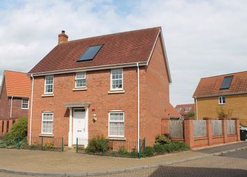 Thumbnail 4 bed detached house for sale in Bullfinch Drive, Harleston
