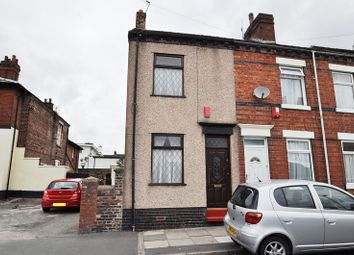 Thumbnail 2 bedroom end terrace house for sale in Cardwell Street, Northwood, Stoke-On-Trent