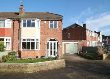Thumbnail 3 bed semi-detached house for sale in Ashclose Avenue, South Knighton, Leicester