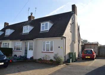 Thumbnail 2 bed semi-detached house for sale in Grenville Avenue, Locking, Weston-Super-Mare