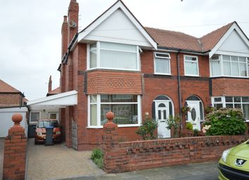 Thumbnail 3 bedroom semi-detached house for sale in Crompton Avenue, Blackpool