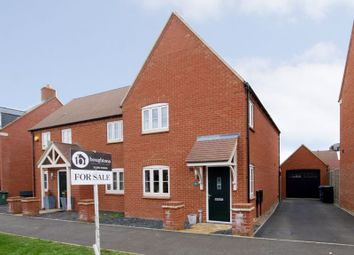 Thumbnail 3 bed semi-detached house for sale in Juno Crescent, Brackley