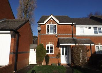Thumbnail 2 bedroom end terrace house for sale in Forsythia Close, Northfield, Birmingham, West Midlands
