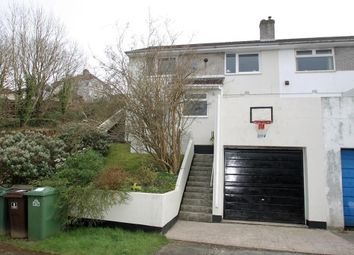 Thumbnail 3 bed semi-detached house for sale in Petersfield Close, Plymouth