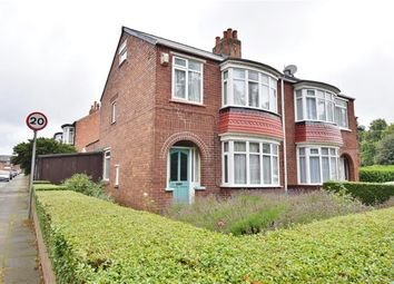 Thumbnail 3 bed semi-detached house for sale in Clairville Road, Longlands, Middlesbrough