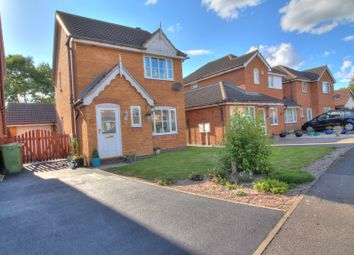 Thumbnail 3 bed detached house for sale in Jubilee Avenue, Asfordby, Melton Mowbray