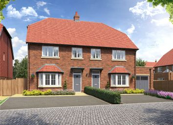 Thumbnail 4 bed semi-detached house for sale in Bushey Hall Drive, Bushey, Hertfordshire