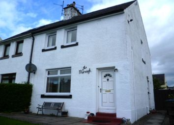 Thumbnail 2 bed semi-detached house for sale in Croftnappoch Place, Crieff